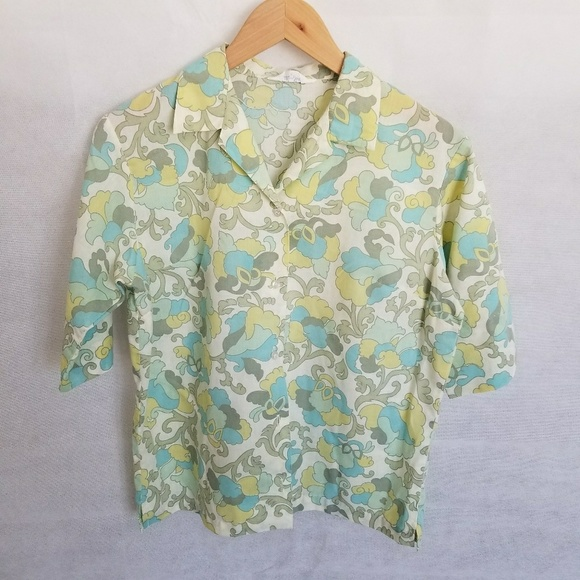 205c7131492 Women's 1960s Paddle & Saddle Cotton Shirt